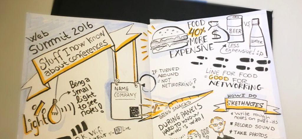Websummit sketchnote 2016